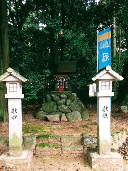 境内社の白鳥神社