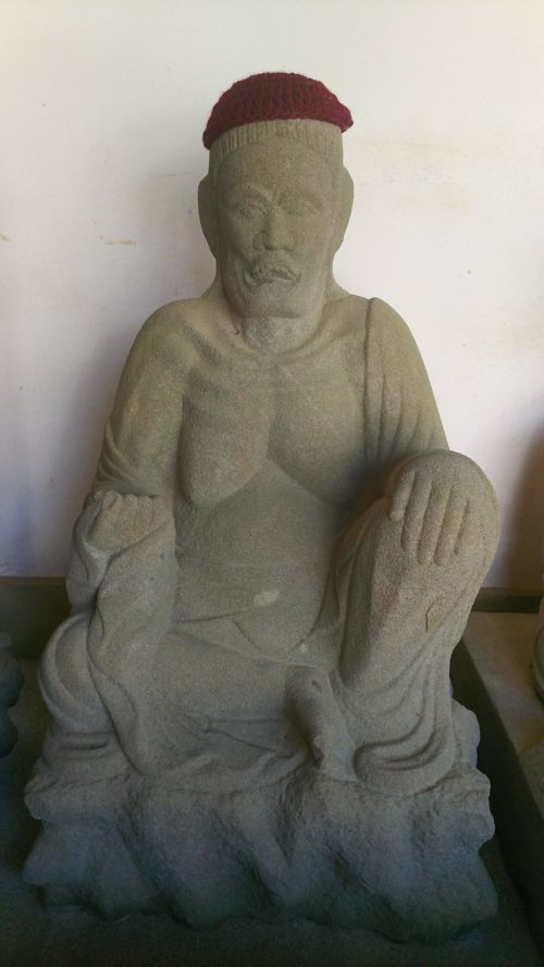 薬王寺の十王堂の石像