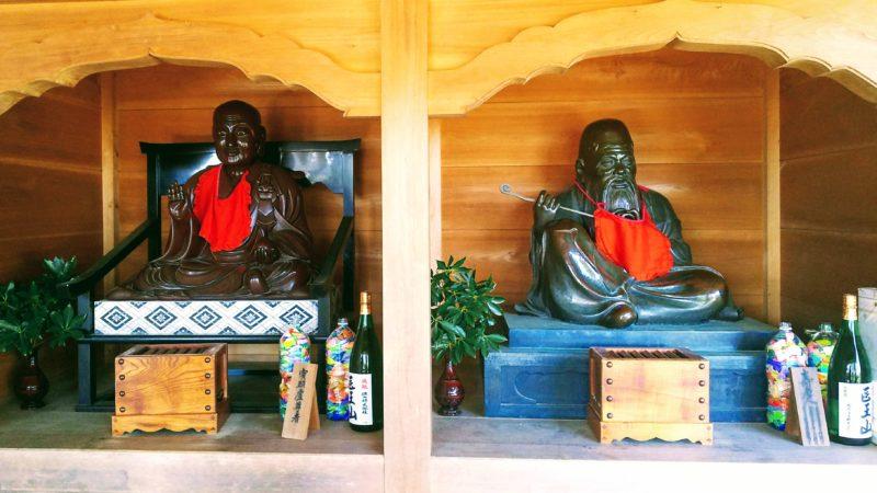 薬王寺の賓頭盧尊者像