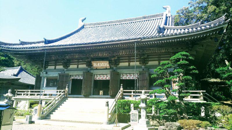 金剛頂寺の本堂