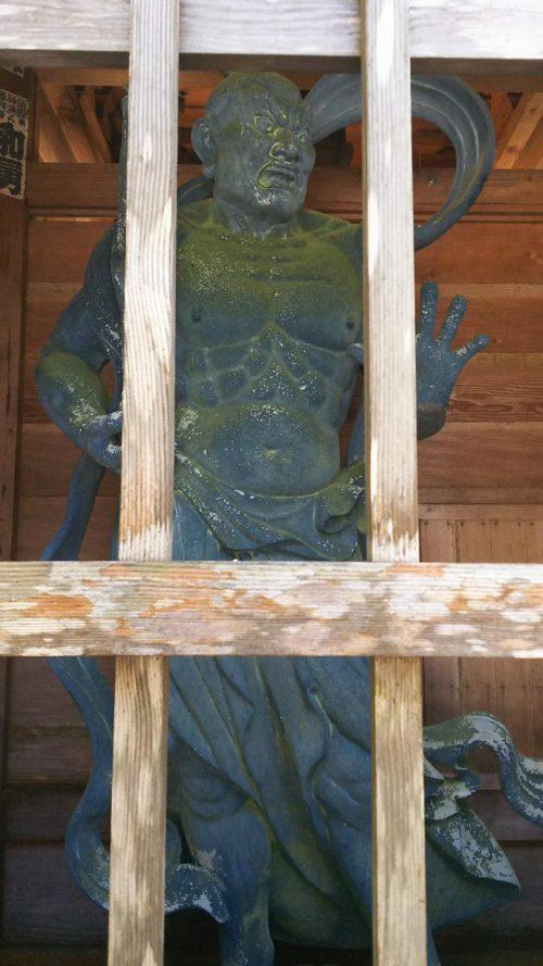最御崎寺の金剛力士像
