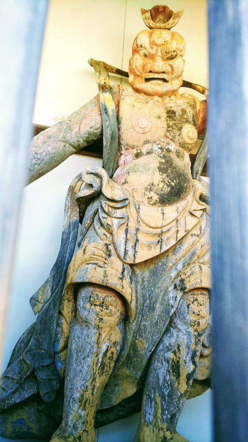 仁王門の金剛力士像