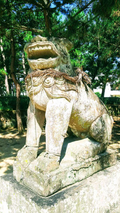 阿形の狛犬